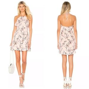 Cupcakes & Cashmere Floral Halter Corralyn Dress